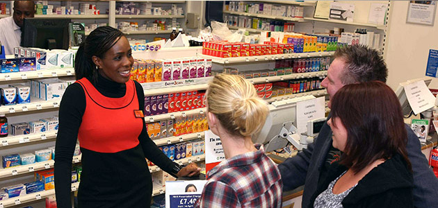 789f1ba44 Our Pharmacists are always at hand to provide information about all our  services including stop smoking support and healthy eating advice.