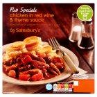 Sainsbury's Pub Specials Chicken In Red Wine 450g at Sainsbury`s