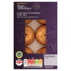 Sainsbury's Melton Mowbray Pork Pie Mini, Taste The Difference x6 300g