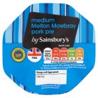 Sainsbury's Melton Mowbray Pork Pie, Medium 280g