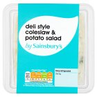 Sainsbury's Deli-Style Coleslaw & Potato Salad, Twinpack 500g