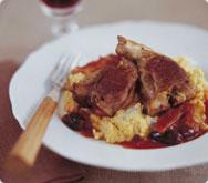 Thumbnail image for Italian style lamb loin chops recipe.