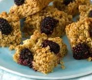 Thumbnail image for Apple and blackberry flapjacks recipe on Sainsbury's Online