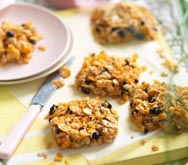 Thumbnail image for Peanut butter and blueberry squares recipe on Sainsbury's Online