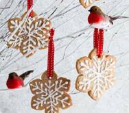 Thumbnail image for Snowflake biscuits recipe on Sainsbury's Online