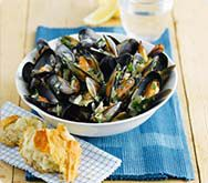 Thumbnail image for Sainsbury's Mussels with parsley and wine recipe