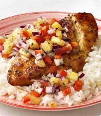 break even a jerk chicken with fired rice jerk chicken with pineapple ...
