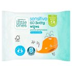 Sainsburys Little Ones Fragrance Free 60 Botty Wipes