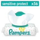 Pampers Sensitive Protect Baby Wipes 56 Wipes