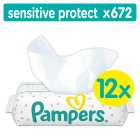 Pampers Sensitive Protect Baby Wipes 672 Wipes
