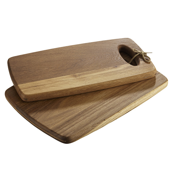 close image for oak chopping boards x2 from
