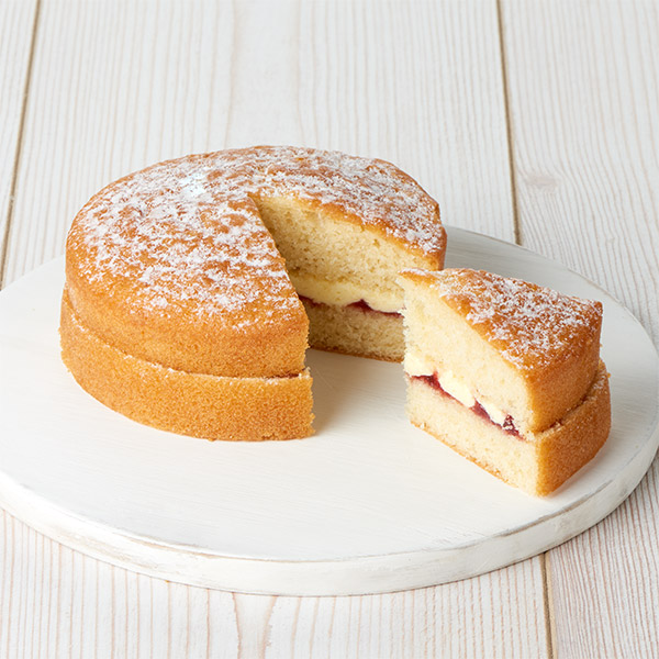 Calories In Sponge Cake With Jam And Cream