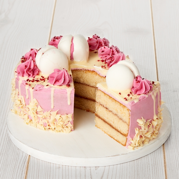 Strawberry Celebration Cake