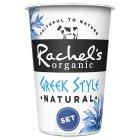 Image for Rachel's Organic Greek Style Set Natural Yogurt 450g from Sainsbury's