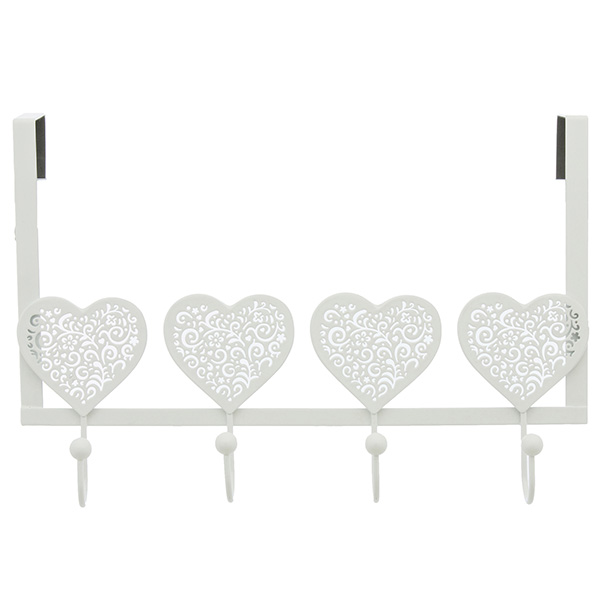 Close Image For Sainsburyu0027s Lace Hearts Over Door Hooks From Sainsburyu0027s