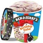 Image For Ben Jerrys Birthday Cake Ice Cream Tub 500ml From Sainsburys