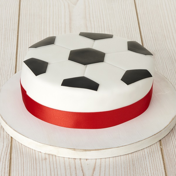 Close Image For Sainsburys Football Crazy Cake 750g Serves 12 From