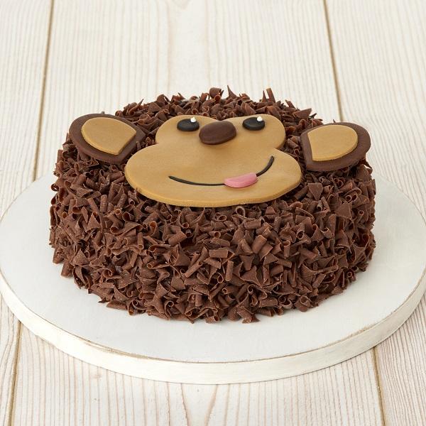 Close Image For Sainsburys Monty The Monkey Celebration Cake 835g From