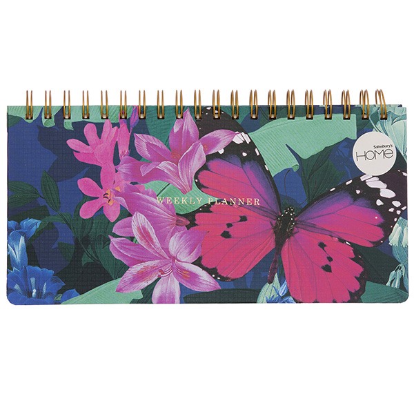 Sainsbury S Home Butterfly House Planner Pad A5 Sainsbury S