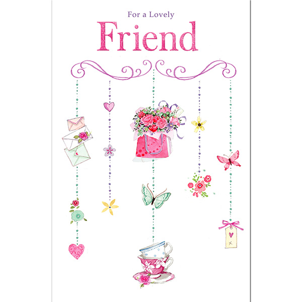 Ukg For A Lovely Friend Birthday Card Sainsbury S