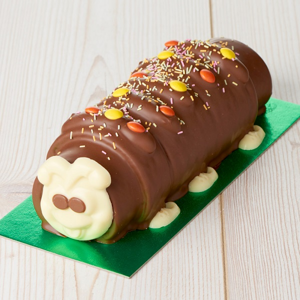 Close Image For Wiggles The Caterpillar Cake 717g Serves 12 From Sainsburys