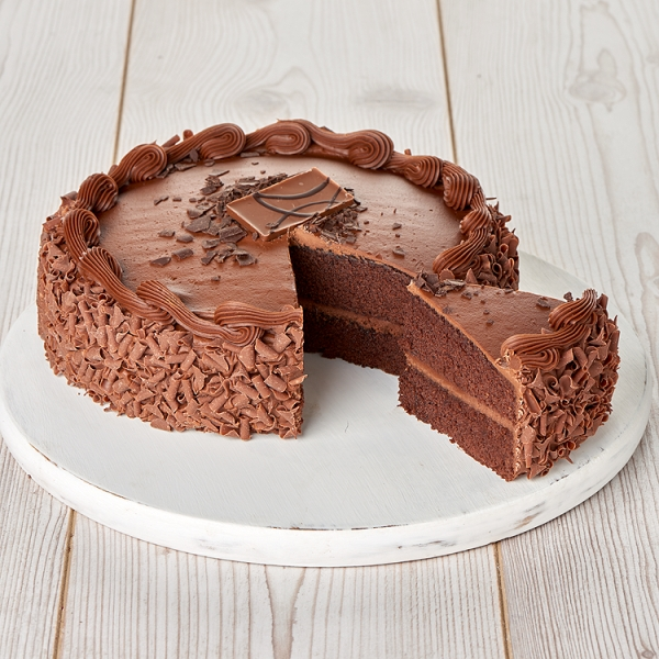 Close Image For Large Seriously Chocolate Cake 128kg Serves 20 From Sainsburys