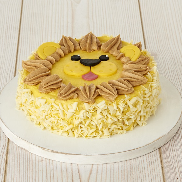 Close Image For Sainsburys Rory The Lion Celebration Cake 930g From