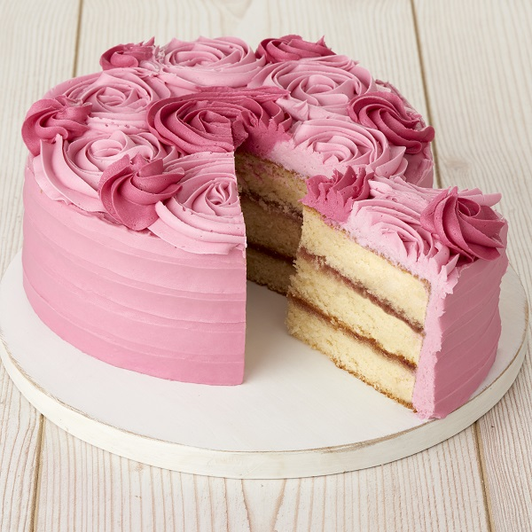 Close Image For Sainsburys Rose Cake 114kg From