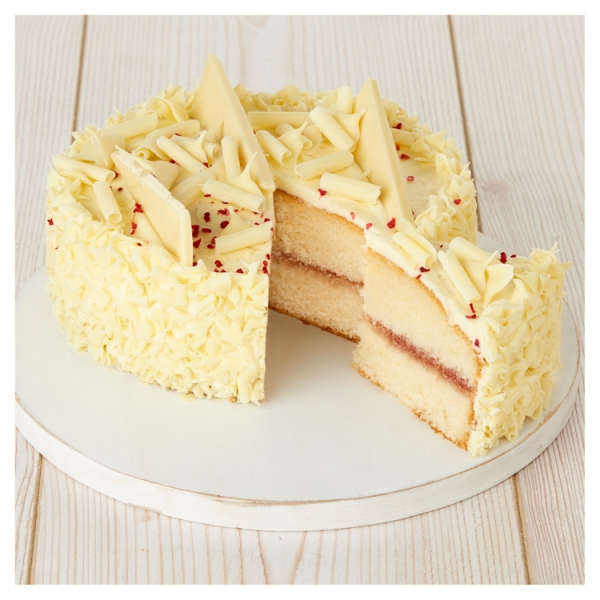 Close Image For Sainsburys Seriously White Chocolate Madeira Cake 839g Serves 12 From