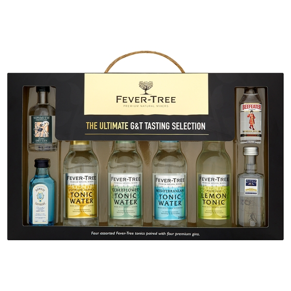 Close Image for Fever Tree Ultimate Gin u0026 Tonic Tasting Selection x4 from Sainsburyu0027s  sc 1 st  Sainsburyu0027s & Fever Tree Ultimate Gin u0026 Tonic Tasting Selection x4 | Sainsburyu0027s