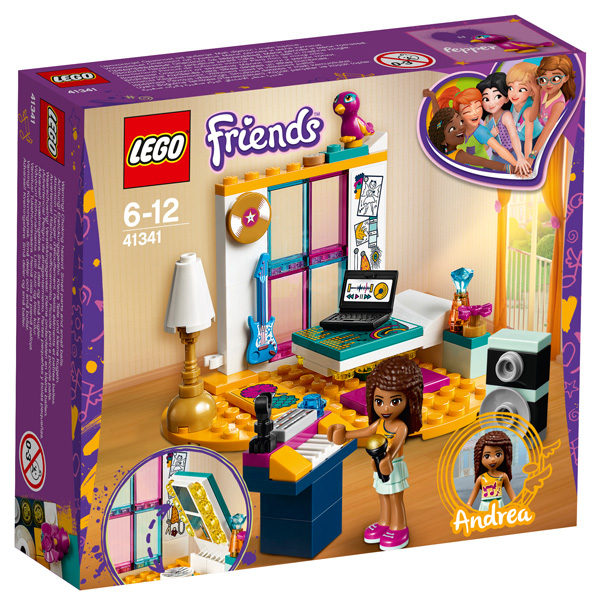 Lego Friends Andreas Bedroom 41341 Sainsburys