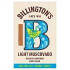 Billington's Light Muscovado Sugar 500g   Sainsbury's