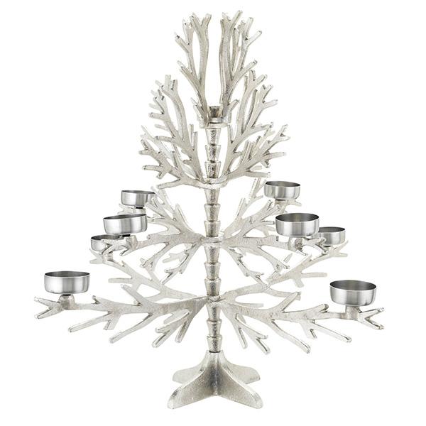 Christmas Tree Candle Holder.Sainsbury S Tealight Christmas Tree Large Sainsbury S