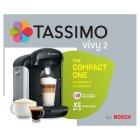 Tassimo By Bosch Vivy Pod Coffee Machine Black Sainsburys