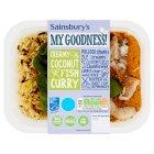 Sainsburys My Goodness Creamy Coconut Fish Curry 380g