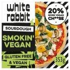 The White Rabbit Pizza Co Smokin Vegan 353g Sainsburys