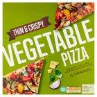 Sainsburys Vegetable Pizza 406g Sainsburys