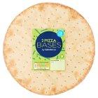 Sainsburys Thin Crispy 10 Pizza Base X2 260g Sainsburys
